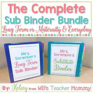The complete sub binder bundle long term or maternity and everyday