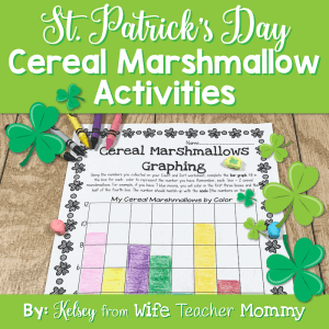 These St. Patrick's Day cereal marshmallow activities are so much fun and educational!
