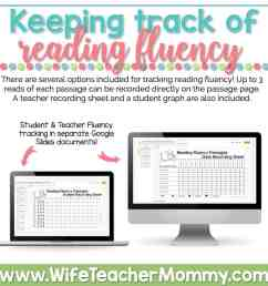 2nd Grade Differentiated Reading Comprehension and Fluency GOOGLE SLIDES -  Wife Teacher Mommy [ 1000 x 1000 Pixel ]