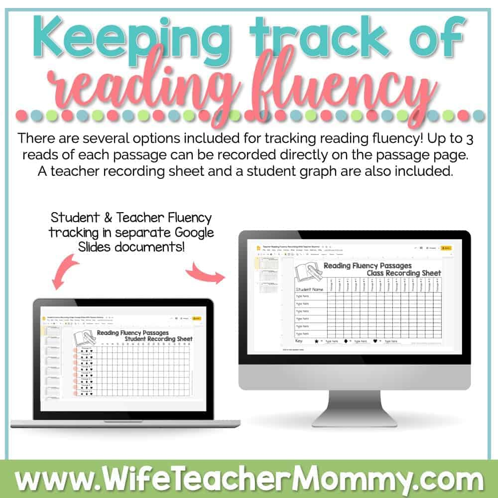 hight resolution of 2nd Grade Differentiated Reading Comprehension and Fluency GOOGLE SLIDES -  Wife Teacher Mommy
