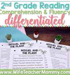 2nd Grade Differentiated Reading Comprehension and Fluency PRINTABLE - Wife  Teacher Mommy [ 1000 x 1000 Pixel ]