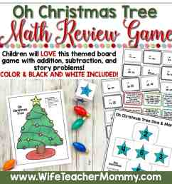 December Homeschool Lessons for 1st Grade and 2nd Grade Math - Wife Teacher  Mommy [ 2000 x 2000 Pixel ]