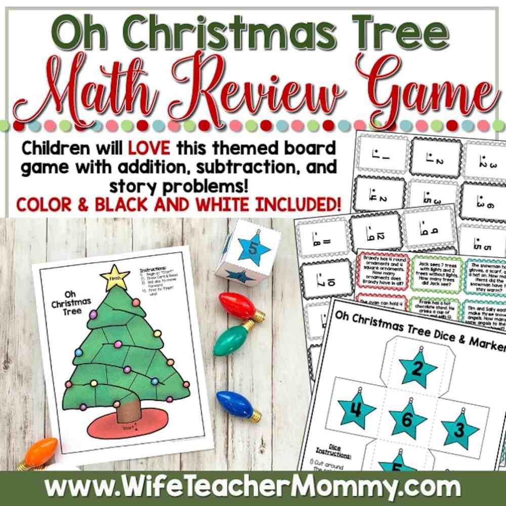 medium resolution of December Homeschool Lessons for 1st Grade and 2nd Grade Math - Wife Teacher  Mommy