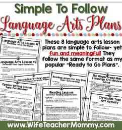 December Homeschool Lessons for 5th Grade \u0026 6th Grade Language Arts - Wife  Teacher Mommy [ 2000 x 2000 Pixel ]