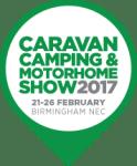 Camping, Caravan & Motorhome Show. NEC Birmingham. 21st to 26th February 2017