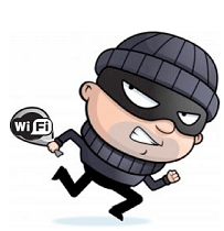 WifiSpot gegevens stelen