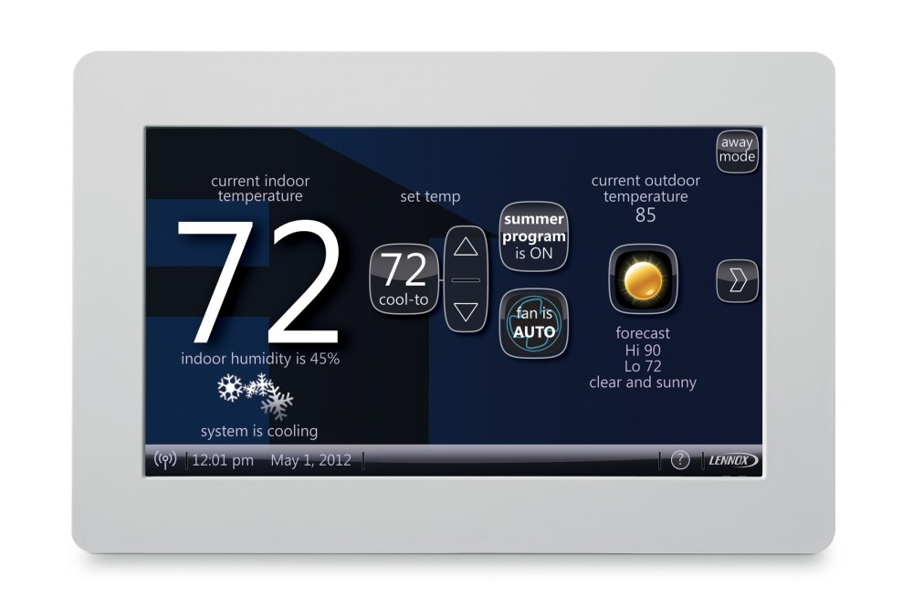medium resolution of lennox icomfort wi fi thermostat review