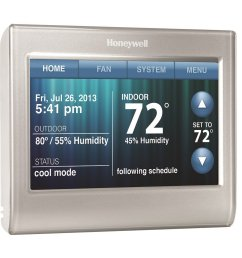 honeywell thermostat wifi rth9580wf review [ 1000 x 1000 Pixel ]