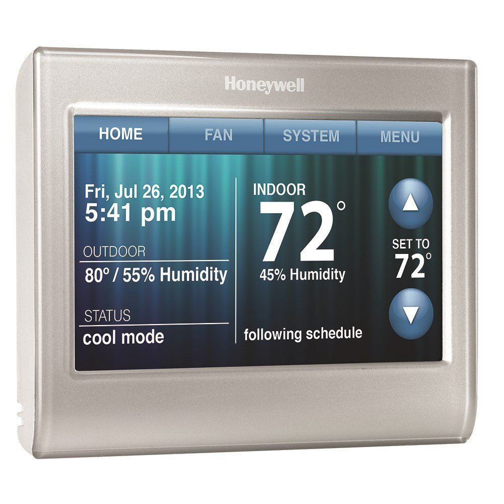 medium resolution of honeywell thermostat wifi rth9580wf review