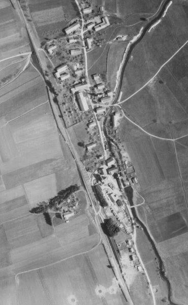 Wifling Luftaufnahme vom 25.04.1945