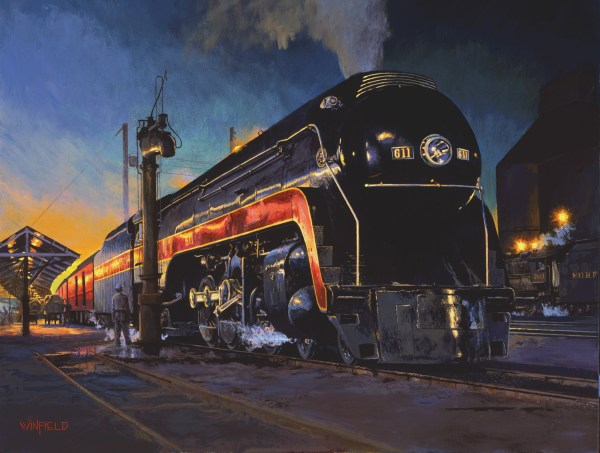 John Fisher Railroad Art Paintings