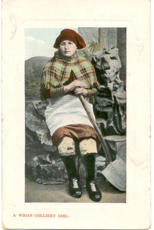 A Wigan Colliery Girl. 1909.