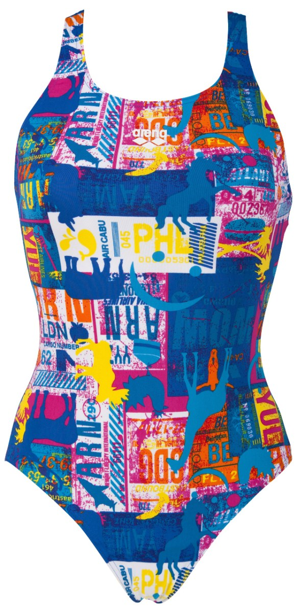 Maillots de bain Femme  Arena  Womens Passport Swim Pro Back Swimsuit AW15  Wiggle France