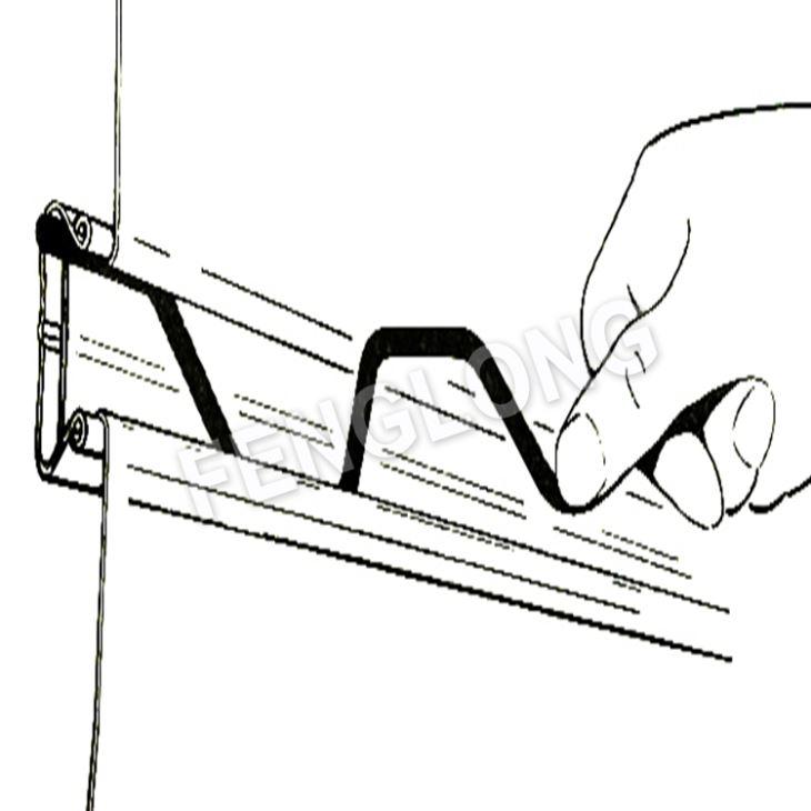 Galvanized Wiggle Wire Lock Channel, Greenhouse Spring
