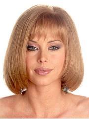 fuss blonde monofilament shoulder