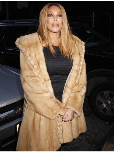 18 Inch Blonde Celebrity Wigs For Wendy WilliamsAfrican