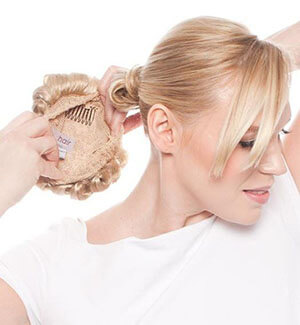 Buns and Wraps Clip-on Hairpieces
