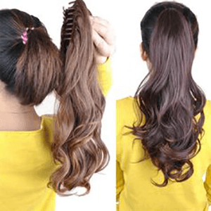 Ponytails Clip-on Hairpieces
