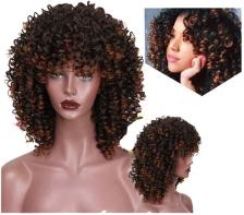 Hair Synthetic Afro Curly Hair Wigs