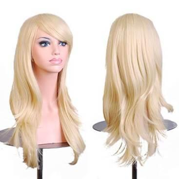 28 inch Women Long Wavy Wig