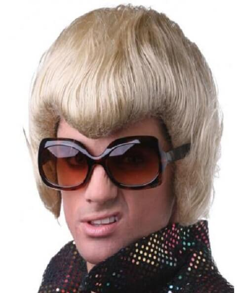 Characters Line Elvis Costume Wig