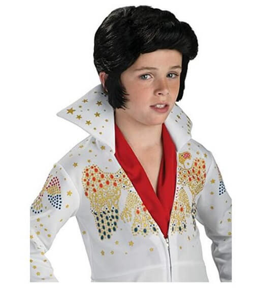 Rubies Child Elvis Wig
