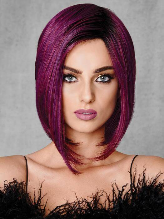 Hairdo Purple Berry Hue Synthetic Wig