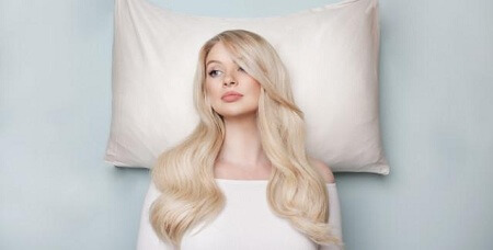 Cotton pillowcases for wig sleeping