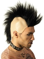 The 80s Punk Mohawk Wig