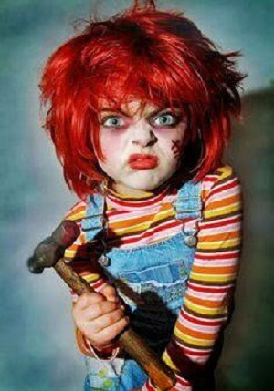 Chucky Doll Wig