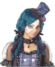 Gothic Broken Doll Tween Wig