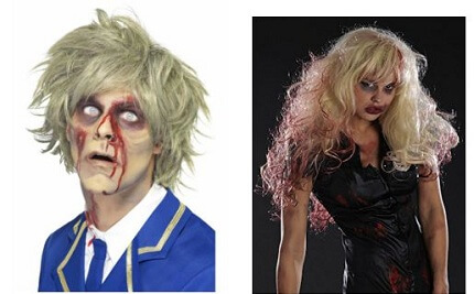 Zombie Wigs for Men and Women