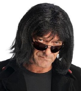 Howard Stern Black Hair Wig