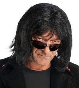 Howard Stern Black Hair Wig