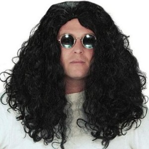 Howard Stern Black Wig