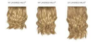 Layered Halo Wig