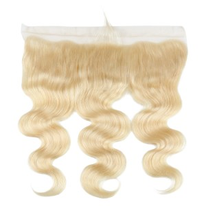 13x4 613 Blonde Lace Frontal Body Wave Remy Human Hair