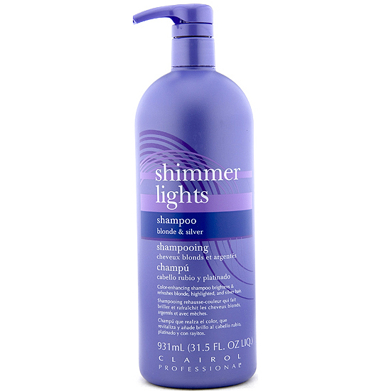 Clairol Shimmer Lights Shampoo Silver 32oz