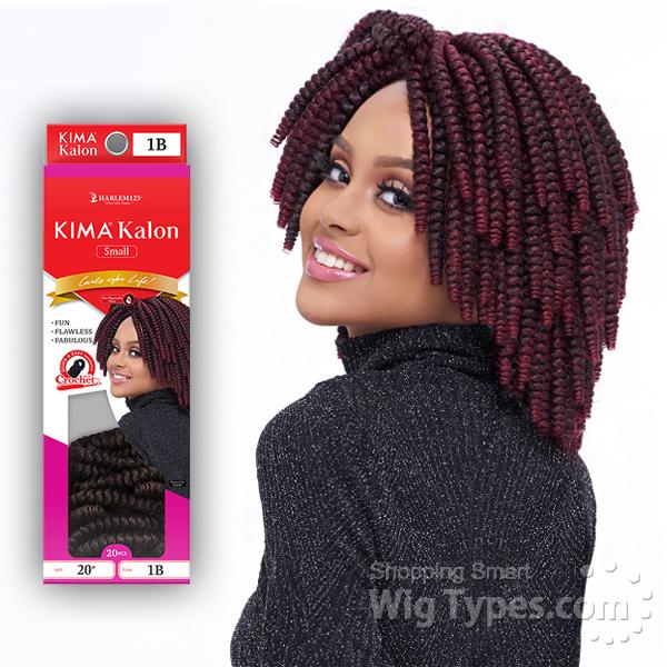 Harlem 125 Synthetic Hair Braid KIMAKALON LARGE 20