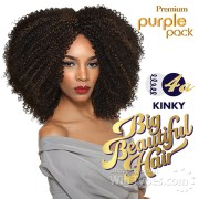 outre purple pack human hair blend