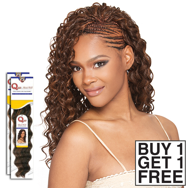 milky way que human hair blend braid  appeal bulk buy 1