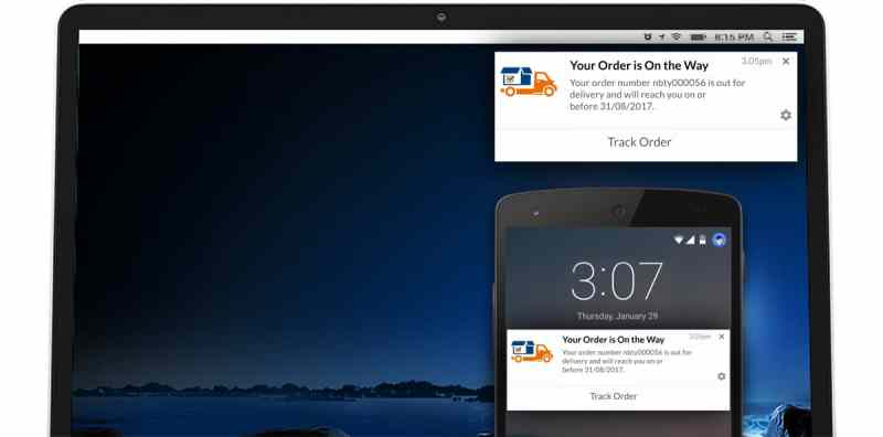 use case ecommerce browser push notification
