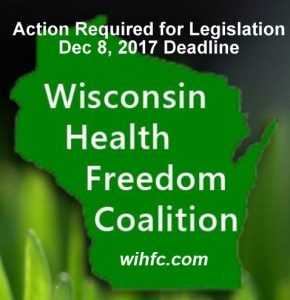 Urgent 2 Days Remaining - Wisconsin Consumer Access to Natural Health Care Legislation