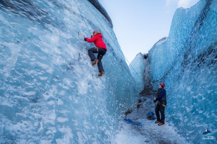 Glacier Hike & Ice Climbing – From Reykjavik