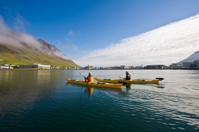 Calm Water Kayaking – Westfjords