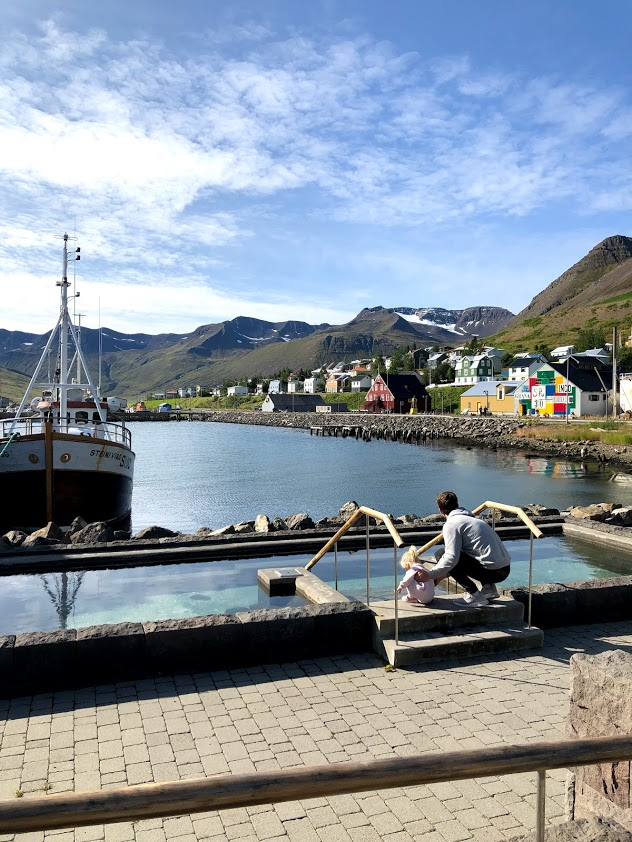 Siglufjordur in north Iceland