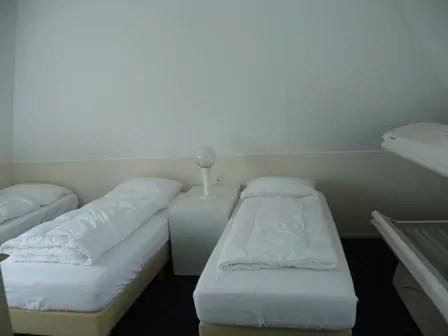 Slaapkamer boven  Camping It Wiid