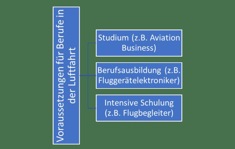 Aviation Business Voraussetzungen für Berufe im Luftverkehr