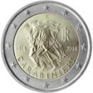 Italien 2014 2 Euro Carabinieri