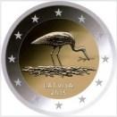 Lettland 2015 2 Euro Storch